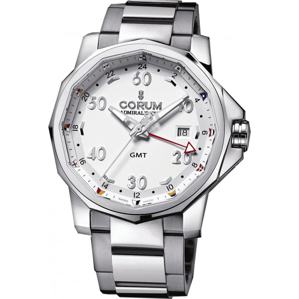Corum watches Admiral`s Cup GMT 44 Steel