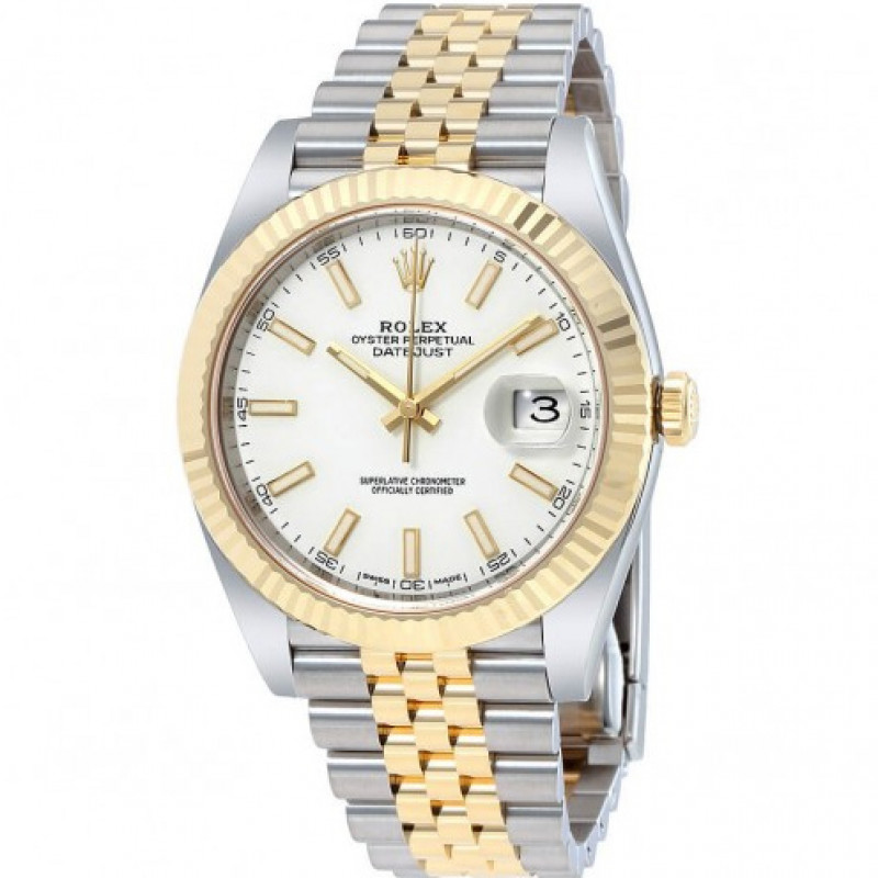 Rolex Datejust Steel Yellow Gold 41mm