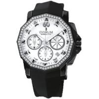 Corum watches Admiral`s Cup Chronograph 40 diamonds