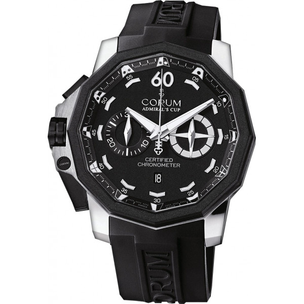 Corum watches Admiral`s Cup Chronograph 50 LHS