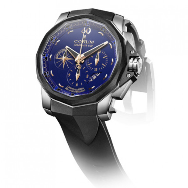 Corum watches Admiral's Cup Chronograph 48 Bol d'Or Mirabaud Limited