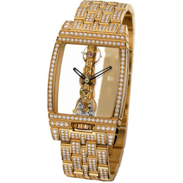 Corum watches Golden Bridge Gold & Diamonds