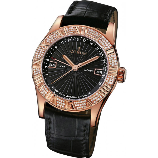 Corum watches Romvlvs Retrograde Annual Calendar RG Diamonds Limited 90