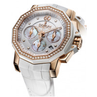 Corum watches Challenger 40 Chrono Diamonds