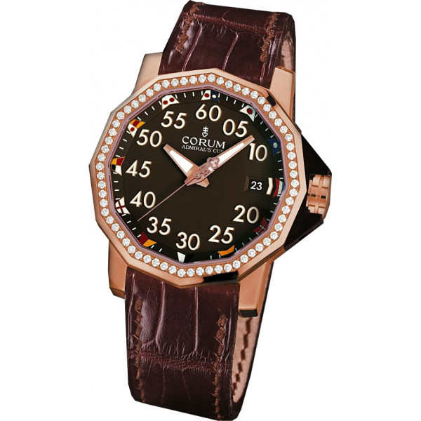 Corum watches Admiral`s Cup Competition 40 RG Diamond