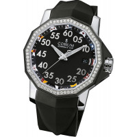 Corum watches Admiral`s Cup Competition 40 Steel Diamond