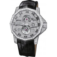 Corum watches Admiral's Cup Nautical Tourbillon White gold Limited 20