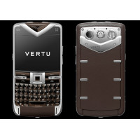 Vertu Constellation Quest Steel Sapphire Brown