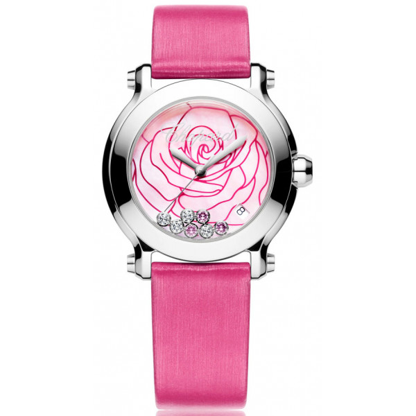 Chopard watches Happy Sport Rose Limited Edition 500