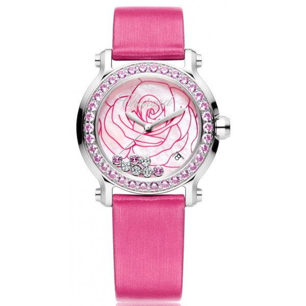 Chopard watches Happy Sport Rose Limited Edition 250