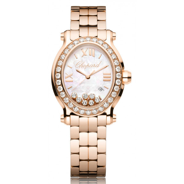 Chopard watches Oval 7 Diamonds