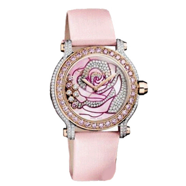 Chopard watches La Vie En Rose Limited Edition 25