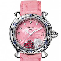 Chopard watches Happy Sport Round Hearts