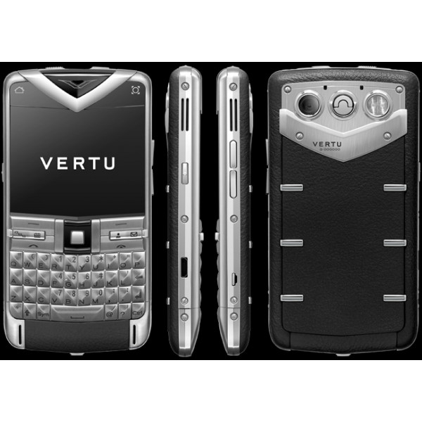 Vertu Constellation Quest Steel Black