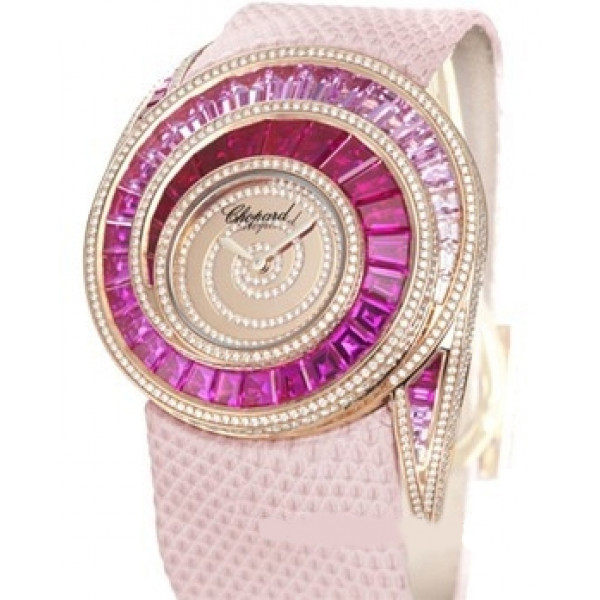 Chopard watches Attractive Pink Sapphire and Diamond Watch
