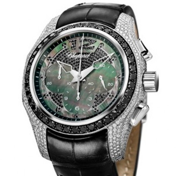 Chopard watches New Elton John Watch Black diamonds Limited edition 2000