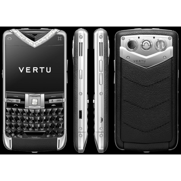 Vertu Constellation Quest Precious Diamond Black
