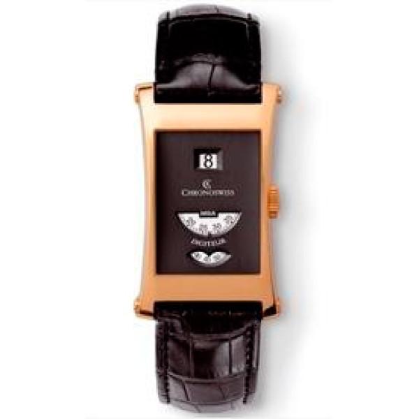 Chronoswiss watches Digiteur CH 1371 R bk Black