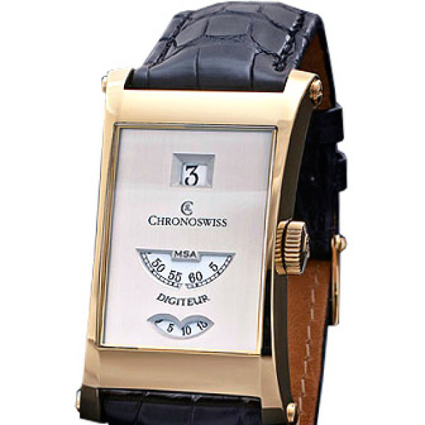 Chronoswiss watches Digiteur CH 1371 si Black