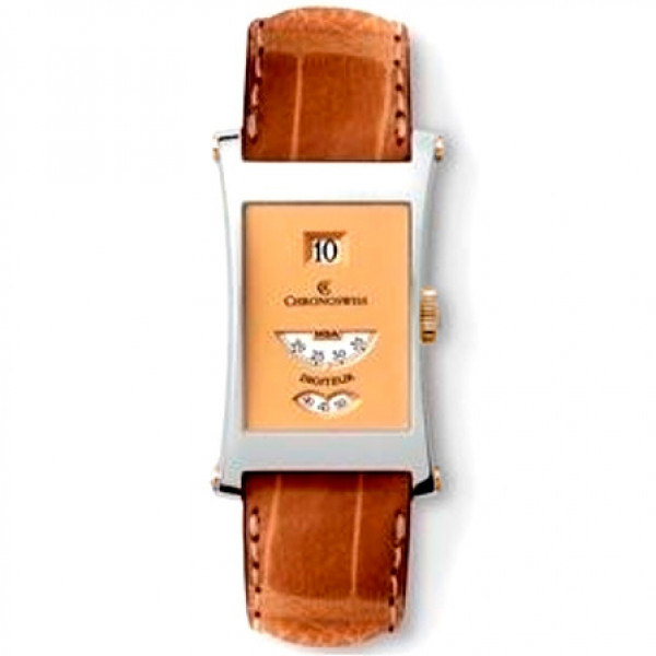 Chronoswiss watches Digiteur CH 1371 W rg Brown