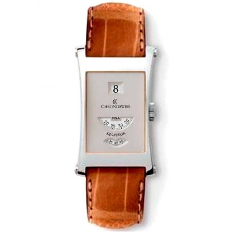 Chronoswiss watches Digiteur CH 1370 si Brown