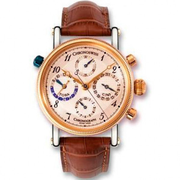 Chronoswiss watches Tora Chronograph CH 7422 R Brown