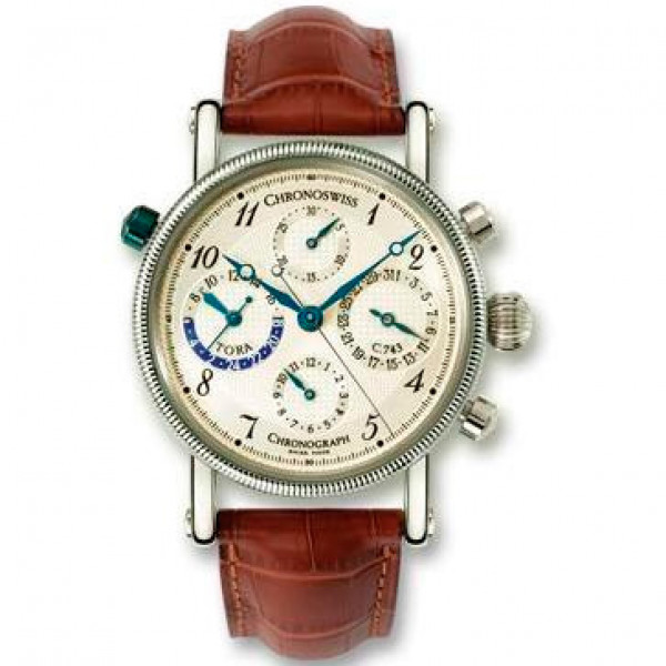 Chronoswiss watches Tora Chronograph CH 7420 Brown