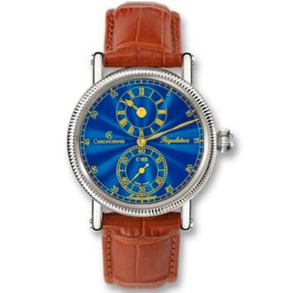 Chronoswiss watches Regulateur Medium CH 1223 M bl Brown