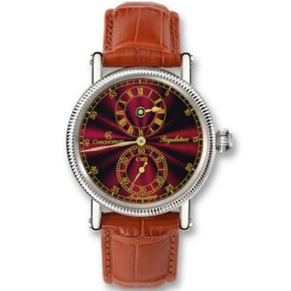 Chronoswiss watches Regulateur Medium CH 1223 M re Brown