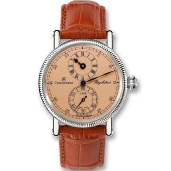 Chronoswiss watches Regulateur Medium CH 1223 M co Brown