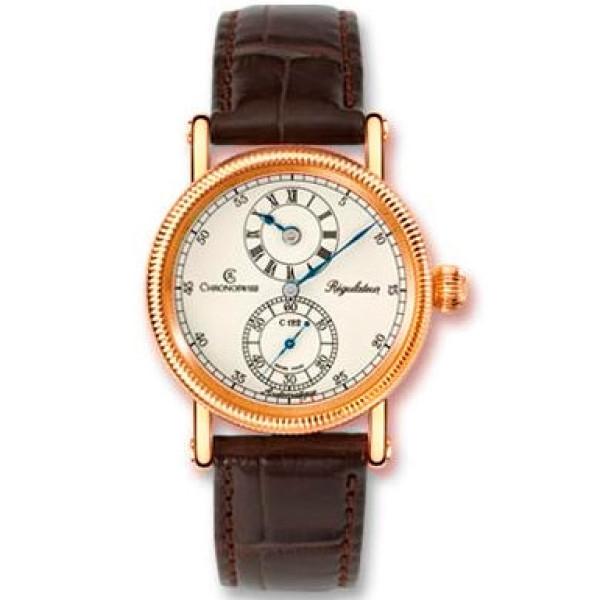 Chronoswiss watches Regulateur Medium CH 1221 M R Brown
