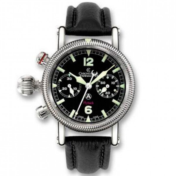 Chronoswiss watches Timemaster Flyback CH 7633 LE bk Black