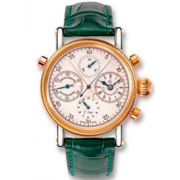 Chronoswiss watches Rattrapante CH 7322 R Green
