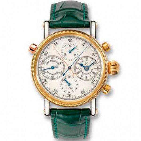 Chronoswiss watches Rattrapante CH 7322 Green
