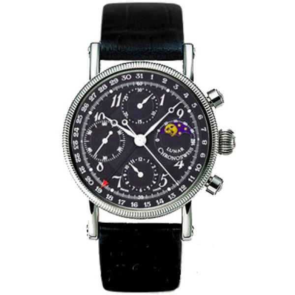 Chronoswiss watches Lunar Chronograph CH 7523 L bk Black