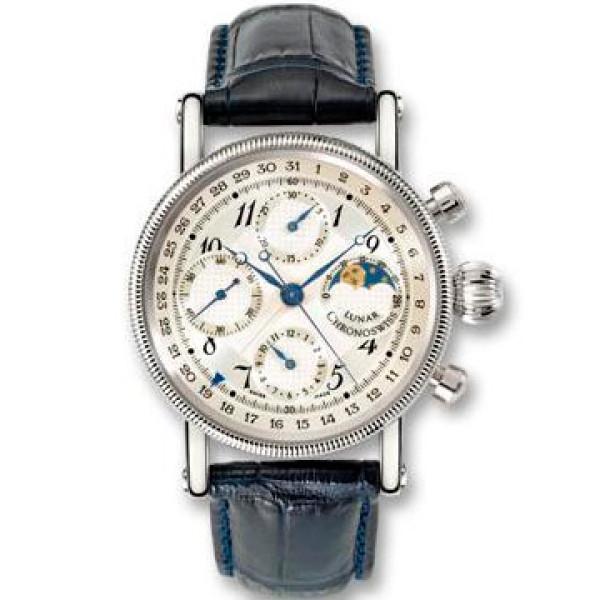 Chronoswiss watches Lunar Chronograph CH 7523 L Black