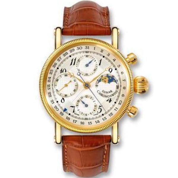 Chronoswiss watches Lunar Chronograph CH 7521 L Brown