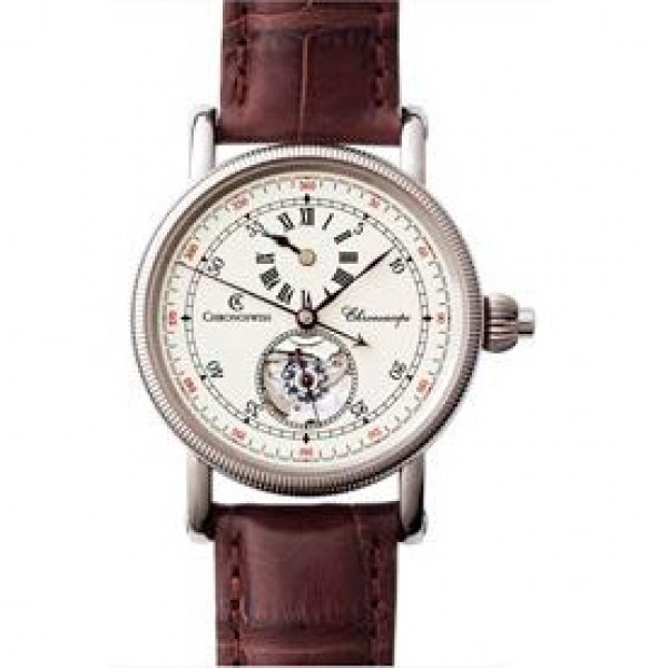 Chronoswiss watches Chronoscope CH 1521 W rc Brown