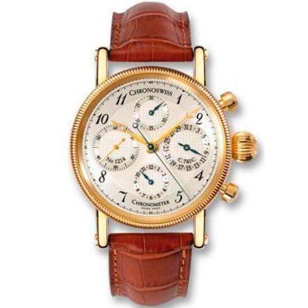 Chronoswiss watches Chronometer Chronograph CH 7522 CD R Brown