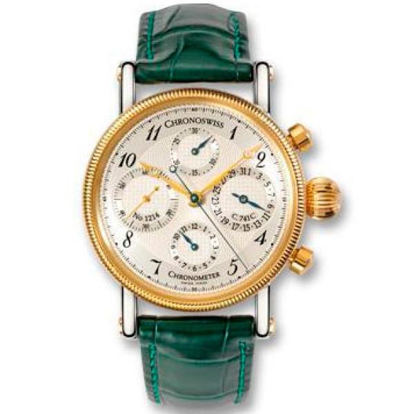 Chronoswiss watches Chronometer Chronograph CH 7521 CD R Green