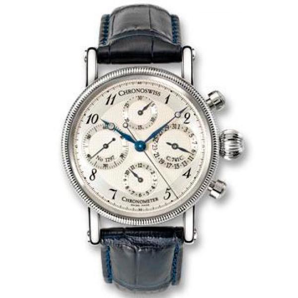 Chronoswiss watches Chronometer Chronograph CH 7521 CD W Black
