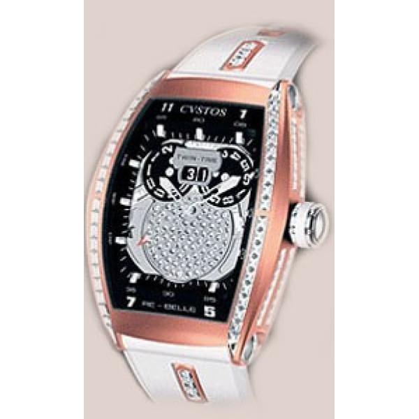 Cvstos watches Re-Bellion Diamond Red Gold