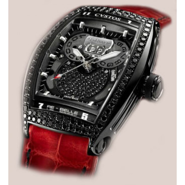 Cvstos watches Re-Bellion black diamond