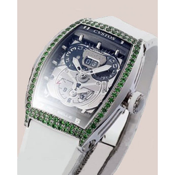 Cvstos watches Twin-Time Joaillerie