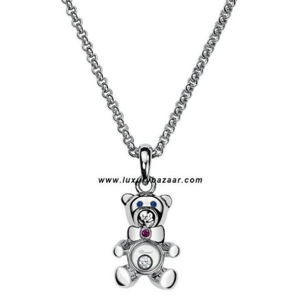 Chopard Happy Diamonds Teddy Bear Floating Diamond White 33
