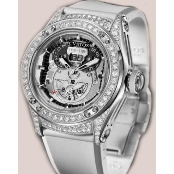 Cvstos watches Challenge-R Twin-Time Steel Diamond