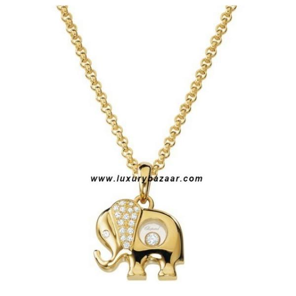 Chopard Happy Diamonds Elephant Floating Diamond Set Yellow 34