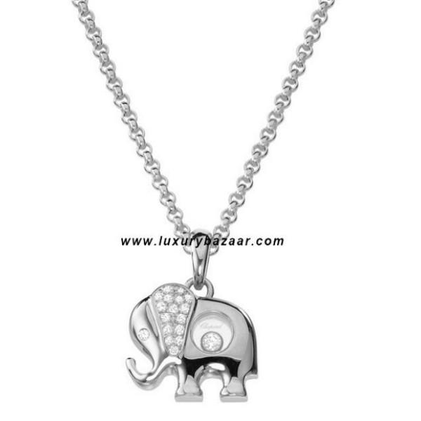 Chopard Happy Diamonds Elephant Floating Diamond Set White 35