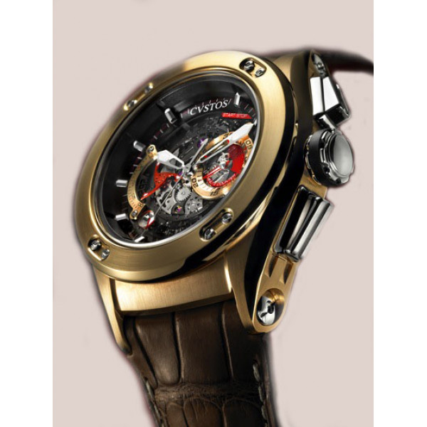 Cvstos watches Challenge R 50 Flyblack -S  Red Gold