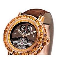 DeWitt watches Pieces d`Exception Tourbillon Mysterieux Haute Joaillerie